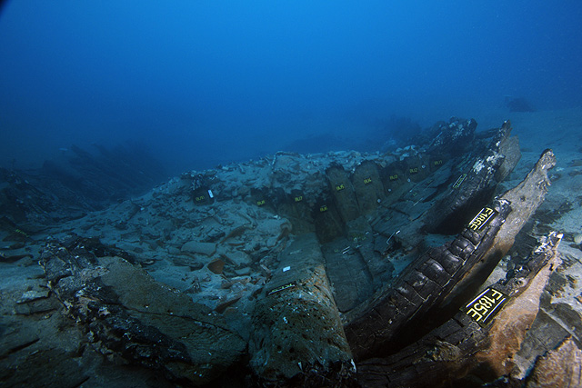 12th century A.D shipwreck of the Rhodes