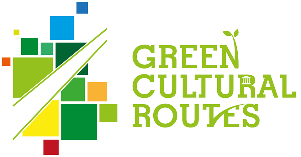 "Logotype ""Green Cultural Routes 2018"", 7-10 June 2018"